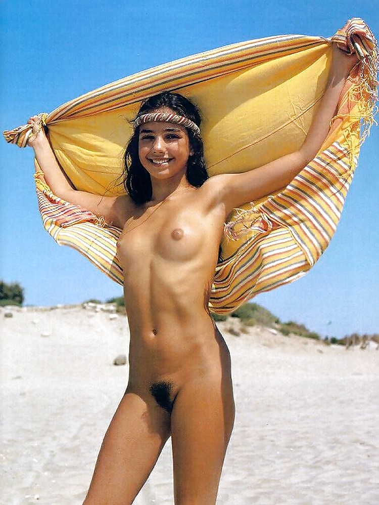 Hottest naked woman on beach